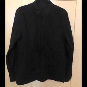 """LULULEMON """"Down to the Wire"""" Button Down Shirt"""